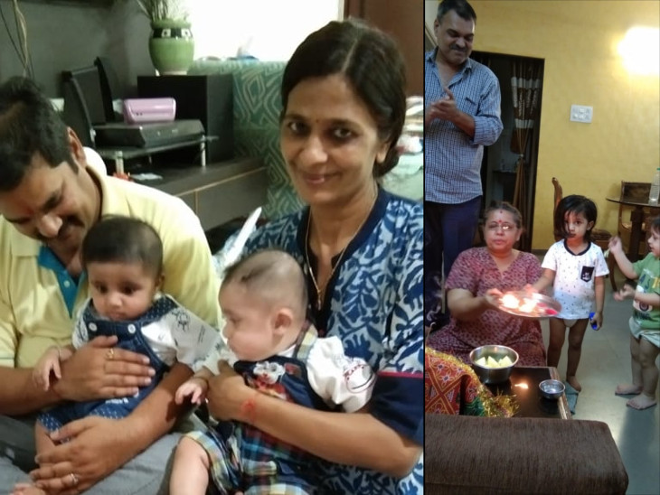 અમદાવાદની આંબાવાડીનાં દ્વારકેશ એપાર્ટમેન્ટમાં પતિ-પત્ની સંક્રમિત થતા પાડોશી તેમના 2 વર્ષનાં 2 બાળકોના પાલનહાર બન્યાં|અમદાવાદ,Ahmedabad - Divya Bhaskar