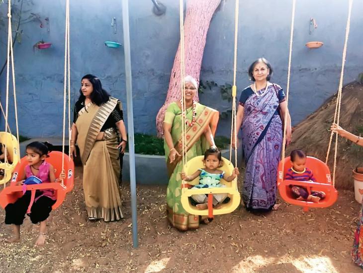 રાજકોટમાં મજૂરીકામ કરતા શ્રમિકોનાં બાળકોના શિક્ષક બને છે ડૉક્ટર, વકીલ અને પ્રોફેસર|રાજકોટ,Rajkot - Divya Bhaskar
