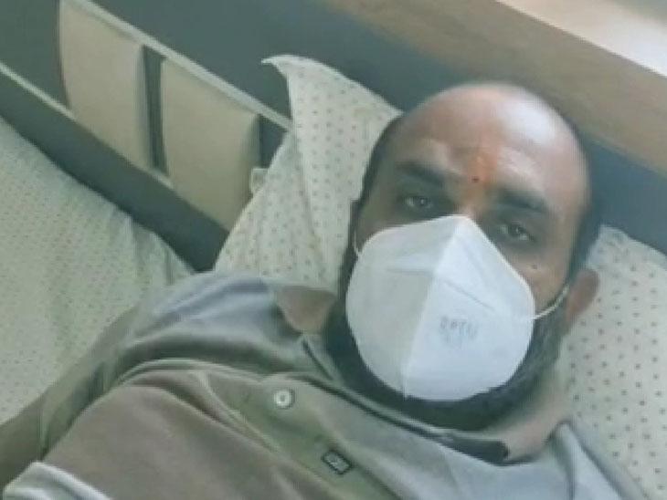ફેફસાંમાં 80 ટકા ઇન્ફેક્શન સાથે મોરબીથી વડોદરા આવેલા દર્દીએ રેમડેસિવિર વિના જ કોરોનાને હરાવ્યો|વડોદરા,Vadodara - Divya Bhaskar