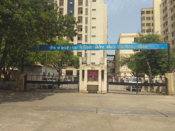 અમદાવાદની સોલા સિવિલ હોસ્પિટલનાં તાળાં 24 કલાક બંધ રહ્યાં બાદ 11 દર્દી ડિસ્ચાર્જ થતાં ખૂલ્યાં, કલાકોમાં ફરી ફુલ|અમદાવાદ,Ahmedabad - Divya Bhaskar