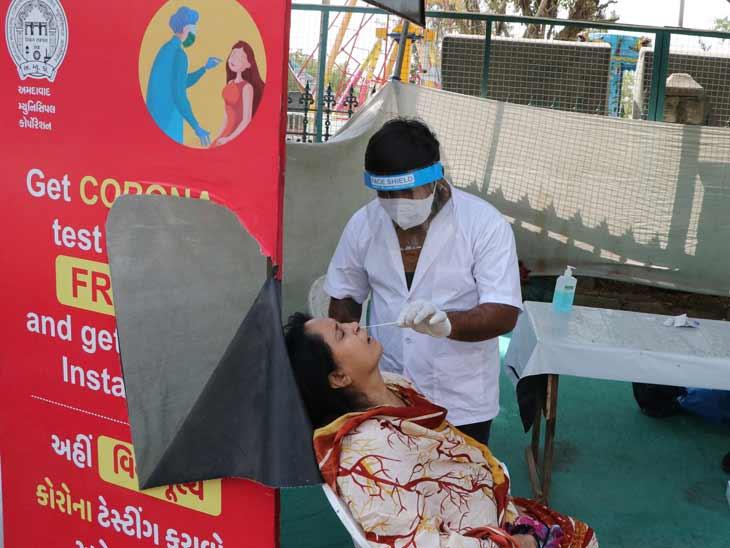 શહેર અને જિલ્લામાં સતત ત્રીજા દિવસે 5 હજારથી ઓછા કેસ , છેલ્લા 24 કલાકમાં 4,754 નવા કેસ અને 4,648 દર્દી સાજા થયા, 23ના મોત|અમદાવાદ,Ahmedabad - Divya Bhaskar