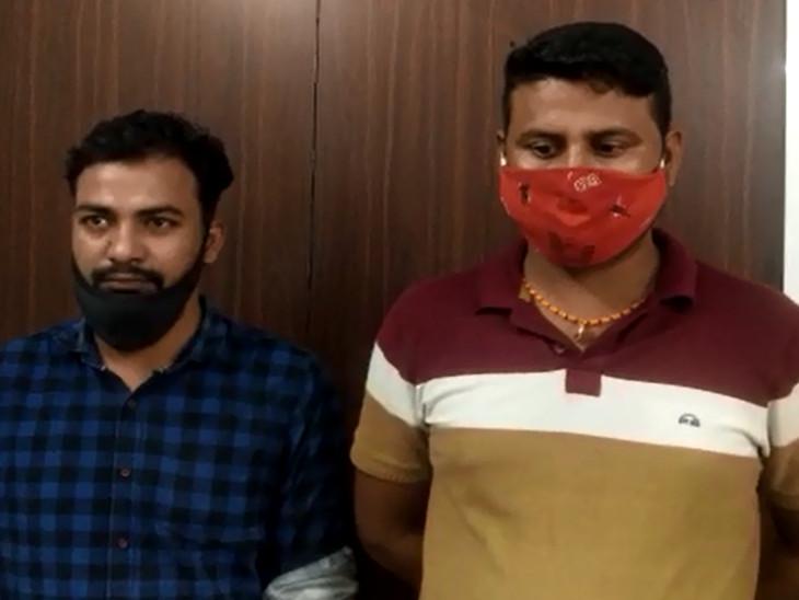 વડોદરામાં રાત્રિ કર્ફ્યૂ દરમિયાન નશાની હાલતમાં વીડિયો શૂટિંગ કરતા બે બોગસ પત્રકાર ઝડપાયા|વડોદરા,Vadodara - Divya Bhaskar