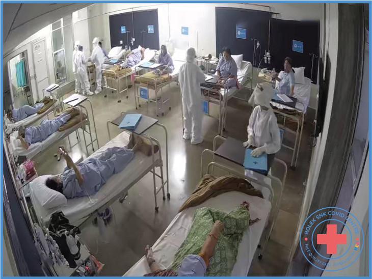 રાજકોટમાં બિલ્ડરો અને ઉદ્યોગકારોની પહેલ, 200 બેડની કોવિડ હોસ્પિટલ શરૂ, એક પણ રૂપિયો લીધા વગર કોરોના દર્દીને VIP ટ્રીટમેન્ટ રાજકોટ,Rajkot - Divya Bhaskar