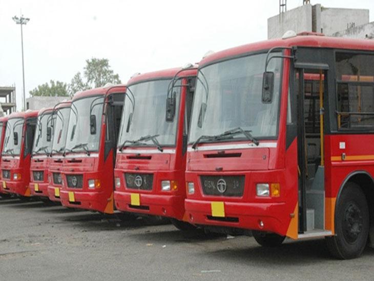 AMTS બસ સેવા બંધ થતા 1200 ડ્રાઈવર-કંડક્ટરોની કપરી સ્થિતિ, AMC પાસે રોજગારીની માંગ|અમદાવાદ,Ahmedabad - Divya Bhaskar