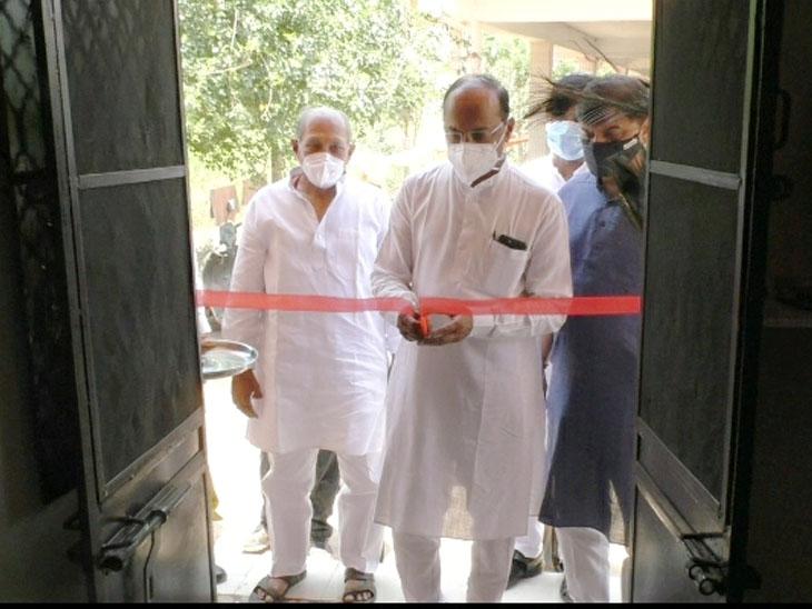 કોરોનાના દર્દીઓ માટે ચાંદોદમાં આઇસોલેટ કેર સેન્ટર કાર્યરત થયું|વડોદરા,Vadodara - Divya Bhaskar