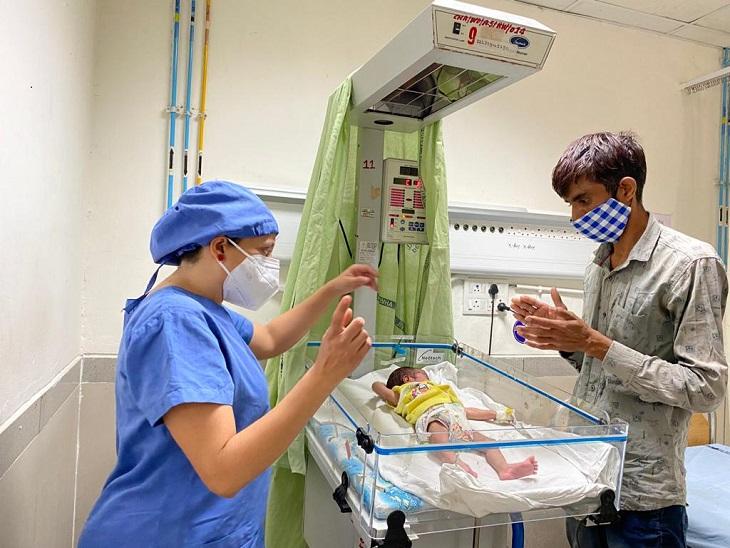 ઓપરેશન પહેલા જ બાળકી કોરોના સંક્રમિત હોવાનું માલુમ પડ્યું