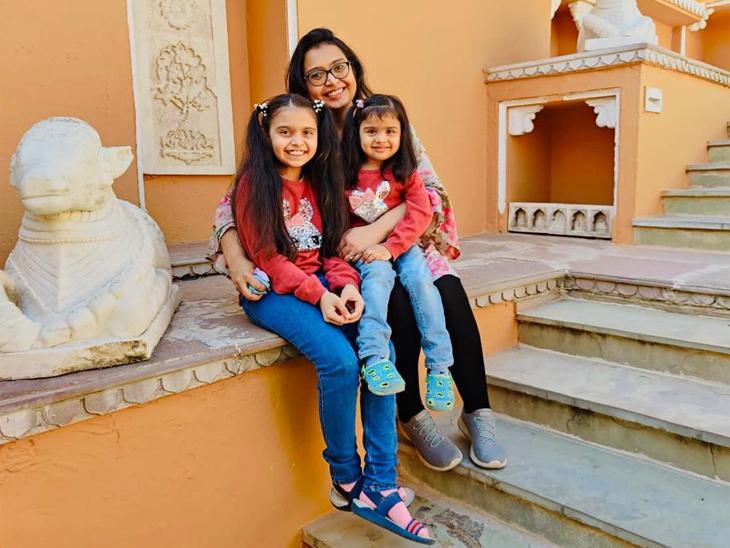 સાંજે ઘરે જાવ તો ૩ વર્ષની દીકરી ભેટવા આવે ત્યારે હું તેનાથી દૂર ભાગું છું: ડૉ.ધ્રુશી પટેલ|અમદાવાદ,Ahmedabad - Divya Bhaskar