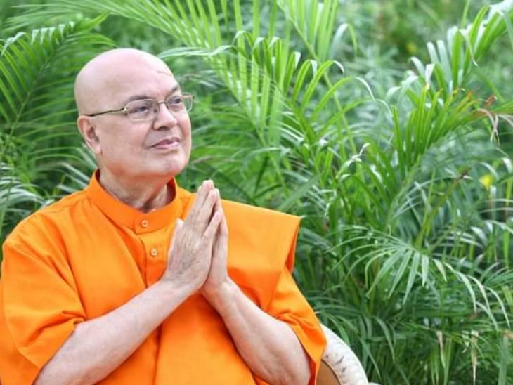 સ્વામી આધ્યાત્માનંદજી ( ફાઈલ ફોટો) - Divya Bhaskar