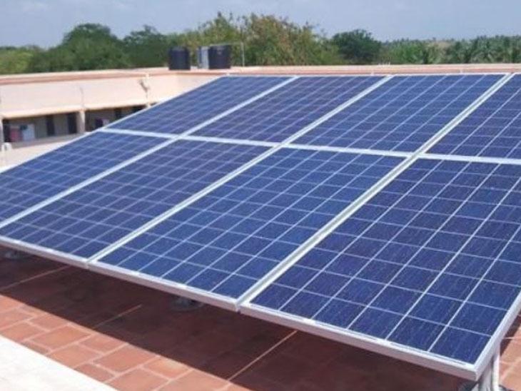સોલર પેનલથી થશે પાલિકા વીજ બિલમાં રોજ રૂ.24,740ની બચત વડોદરા,Vadodara - Divya Bhaskar