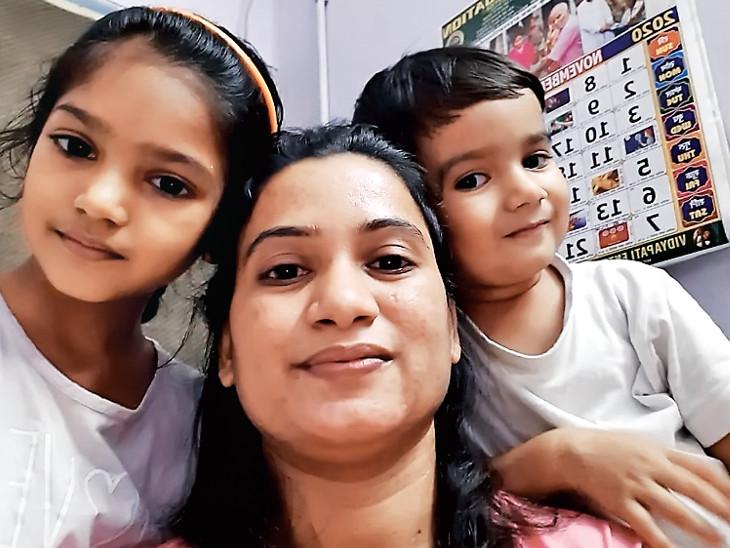 સુરત સિવિલ હોસ્પિટલનાં નર્સ દીપિકાબેન સવા વર્ષથી બાળકોથી દૂર; નર્સની ફરજ, દર્દીની સેવા કરવી, પોતાનાં જ સંતાનોથી દૂર રહેવું|સુરત,Surat - Divya Bhaskar