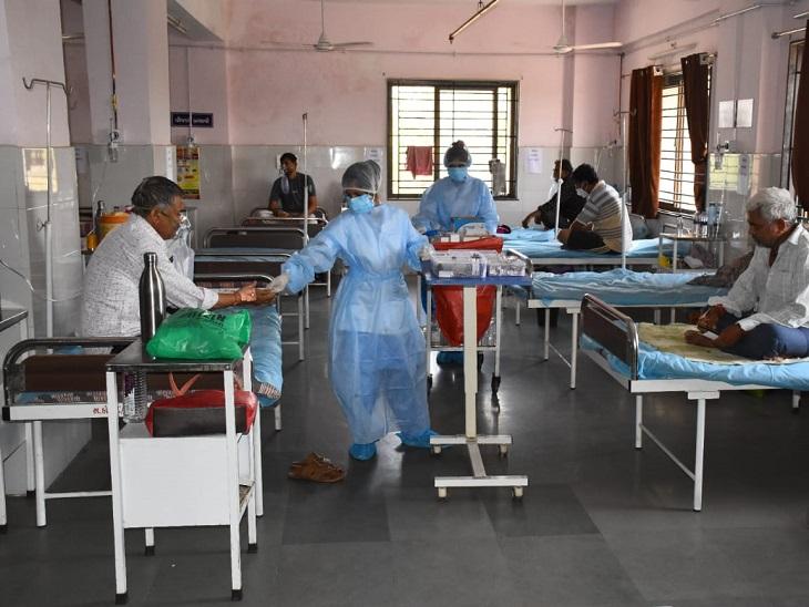 સીંગરવાના કોવિડ કેર સેન્ટરની ઉત્કૃષ્ઠ કામગીરી, 50 બેડની સુવિધા ધરાવતા યુનિટમાં 170થી વધુ દર્દીઓની સફળ સારવાર|અમદાવાદ,Ahmedabad - Divya Bhaskar