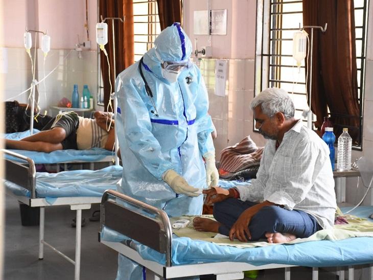 અમદાવાદમાં કોરોનાના કેસ ઘટતા ખાનગી હોસ્પિટલોમાં 1 હજારથી વધુ બેડ ખાલી, ઓક્સિજનના 32 બેડ તથા 2 વેન્ટિલેટર ઉપલબ્ધ|અમદાવાદ,Ahmedabad - Divya Bhaskar