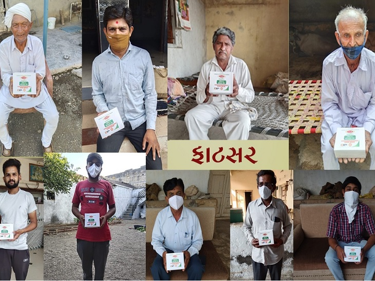 કોરોનાકાળમાં SGVP ગુરુકુળ સંસ્થાની અનોખી પહેલ, 40 ગામડાઓમાં અંદાજે 21 લાખની આયુર્વેદિક દવાઓનું વિનામુલ્યે વિતરણ કર્યું|અમદાવાદ,Ahmedabad - Divya Bhaskar