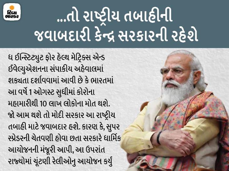લેન્સેટે લખ્યું- PM મોદીનું કામ માફી લાયક નહીં, તેમણે કોરોના અંગે પોતાની ભૂલોની જવાબદારી લેવી જોઈએ|ઈન્ડિયા,National - Divya Bhaskar