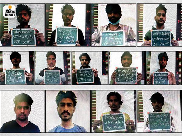જેલમાંથી ફરાર કેદીઓનો ફાઈલ ફોટો. જેની તપાસ માટે હરિયાણા પોલીસ હવે અભિયાન ચલાવી રહી છે.