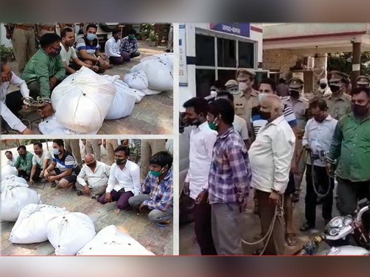 ચિતા પર ઢાંકેલા કફનને નવા સ્ટીકર લગાવીને વેચતી ગેંગ ઝડપાઈ, સ્મશાનમાં કામ કરતા મજૂરો પણ સામેલ|ઈન્ડિયા,National - Divya Bhaskar