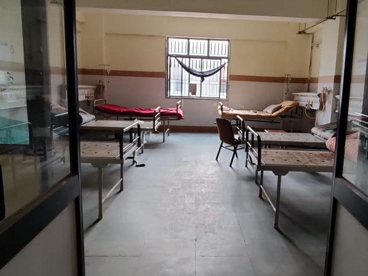 ધારપુરમાં છ બેડનો સ્પેશિયલ વોર્ડ તૈયાર કરાયો - Divya Bhaskar