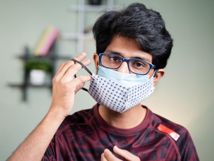 કોરોના સામે મજબૂત બનવા 2 માસ્ક પહેરીએ; કોરોનાથી બચવા માટે ડબલ માસ્કિંગ 90%થી વધુ કારગર|અમદાવાદ,Ahmedabad - Divya Bhaskar