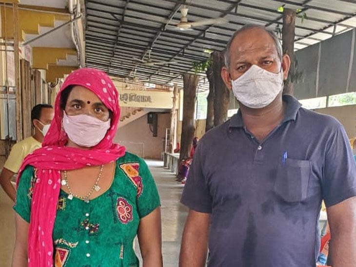 રાજસ્થાનથી આવેલ એક માતા પોતાના 13 વર્ષીય દિકરાને પોતાની કિડની આપી તેને બીજી વાર જીવન આપશે. - Divya Bhaskar
