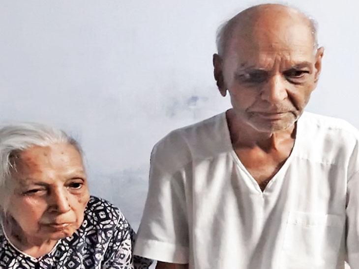 ટંકારાના 87 વર્ષના દંપતીએ કોરોનાને ઘરે સારવારથી હરાવ્યો ટંકારા,Tankara - Divya Bhaskar