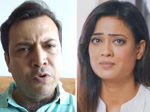 શ્વેતા તિવારી પર ગુસ્સે થઇ પતિ અભિનવ બોલ્યો, 'તને શરમ નથી આવતી? પોતે પૈસા પચાવી પાડે છે અને કહે છે હું દીકરા માટે ખર્ચો નથી કરતો' બોલિવૂડ,Bollywood - Divya Bhaskar