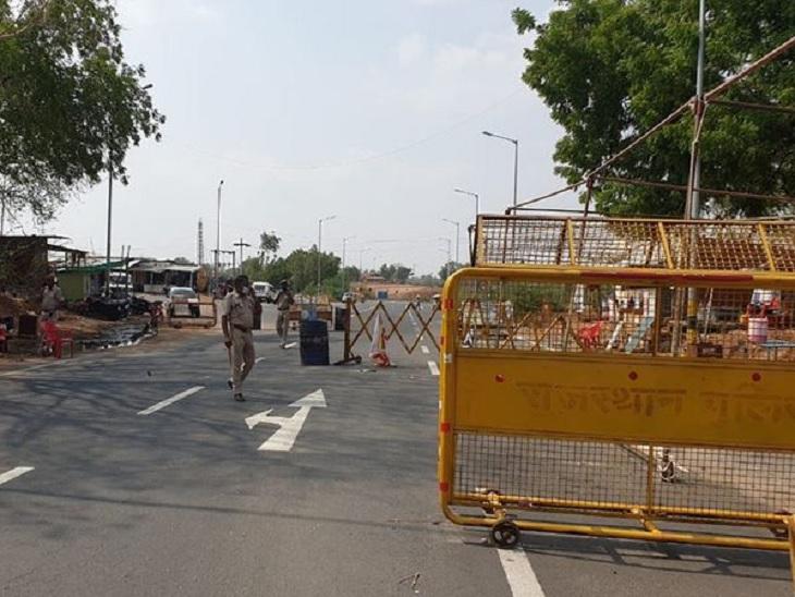 રાજસ્થાનમાં 14 દિવસના લોકડાઉનને પગલે ગુજરાત-રાજસ્થાન બોર્ડર સીલ, એસ.ટી. બસોના પ્રવેશ પર પણ પ્રતિબંધ અમદાવાદ,Ahmedabad - Divya Bhaskar