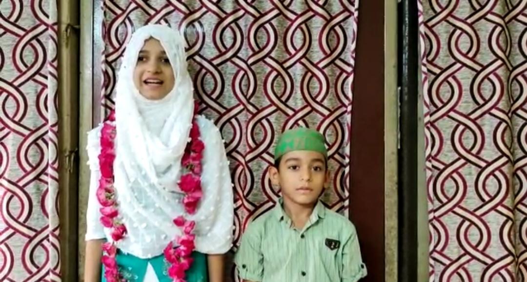 કોરોના વાઇરસથી મુક્તિ માટે 12 વર્ષની દીકરીએ 105 દિવસ સુધી રોઝા રાખી દુવા માગી ભરૂચ,Bharuch - Divya Bhaskar