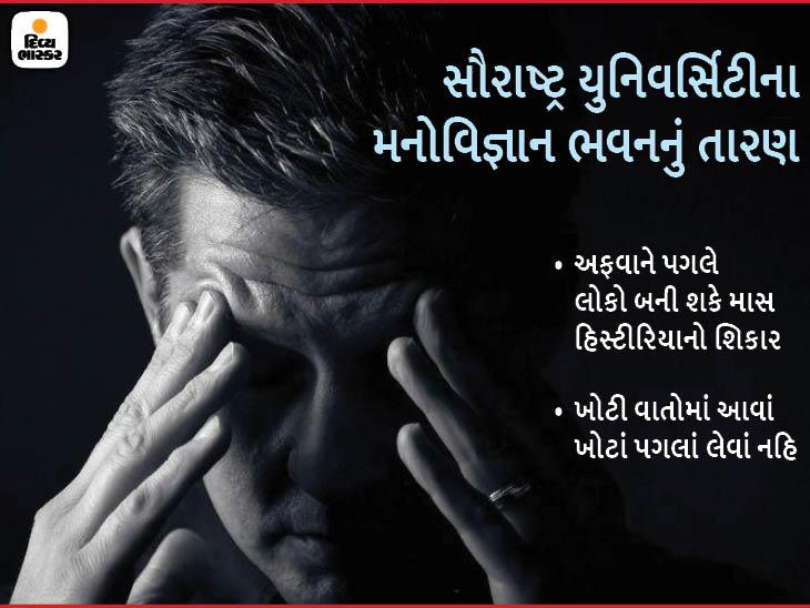એક અજાણ્યો ડર એકથી બીજા સુધી પહોંચીને અફવાઓને પ્રોત્સાહન આપે છે - Divya Bhaskar