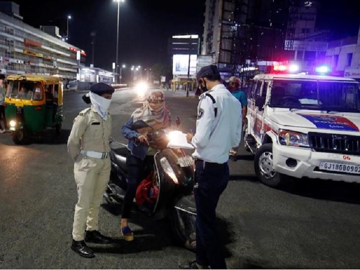 ગુજરાતનાં 36 શહેરમાં કર્ફ્યૂ અને નિયંત્રણો 18મી સુધી લંબાવવામાં આવ્યા , કોર કમિટીની બેઠકમાં નિર્ણય|અમદાવાદ,Ahmedabad - Divya Bhaskar