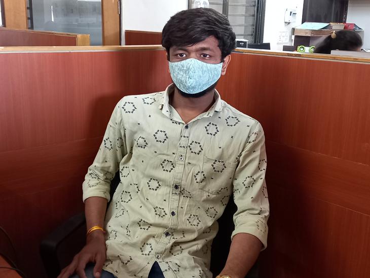 ભાસ્કરની ઓફિસે આવીને યુવકે વ્યથા ઠાલવી - Divya Bhaskar