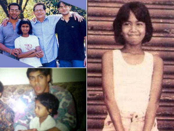 સલીમ ખાન-હેલનની દત્તક લીધેલી દીકરી અર્પિતા છે, ભાઈ સલમાનની એકદમ નિકટ, ક્યારેક ઈન્ટીરિયર ડિઝાઈનિંગ ફર્મમાં કામ કરતી હતી|બોલિવૂડ,Bollywood - Divya Bhaskar