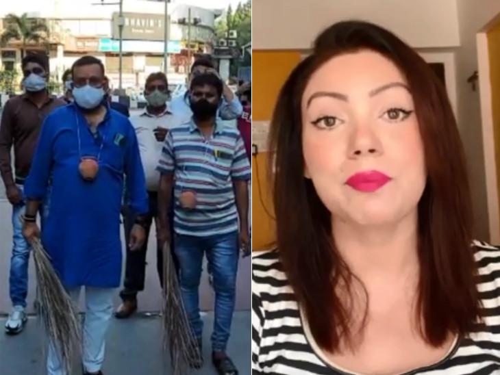 'તારક મહેતા' સિરિયલની અભિનેત્રી બબિતાએ કરેલી વિવાદાસ્પદ ટિપ્પણીને કારણે વાલ્મિકી સમાજમાં રોષ, સિરિયલનું પ્રોડક્શન બંધ કરવાની ચીમકી|સુરત,Surat - Divya Bhaskar