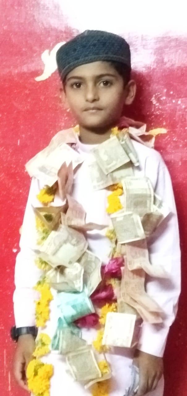 રોજા રાખનાર નરસંડાનો 7 વર્ષીય રૂહાન