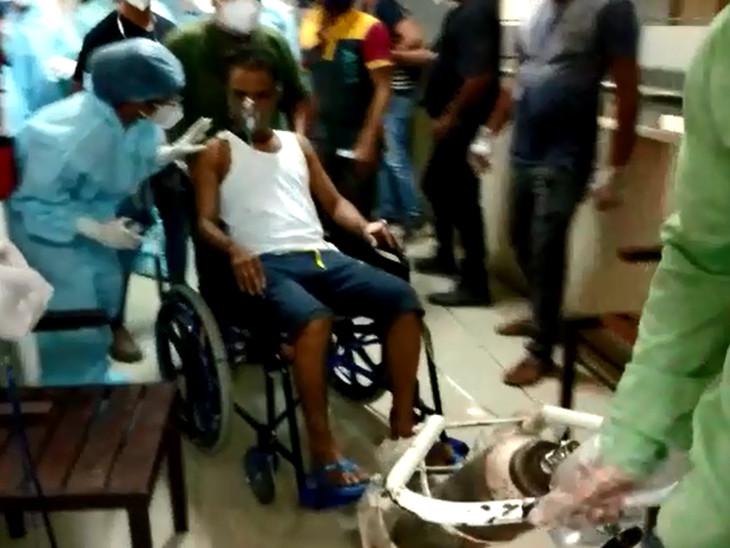 5 દર્દીને શિફ્ટ કરવા પડ્યા હતા
