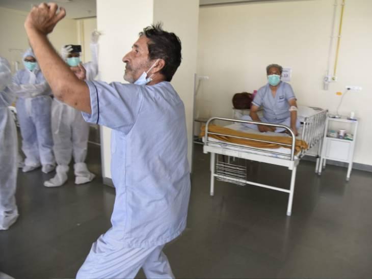 દર્દીઓએ પણ આ કાર્યક્રમ નિહાળીને આનંદ માણ્યો હતો