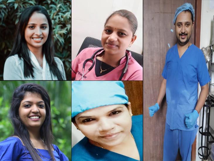 ભૂખ્યા રહ્યાં, સ્વજન ખોયાં, જીવ જોખમમાં મૂકી દીધો પણ સારવારમાં પીછેહઠ ન કરી અમદાવાદ,Ahmedabad - Divya Bhaskar