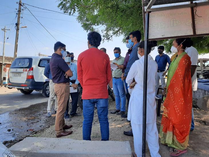 બાબરા તાલુકામાં જિલ્લા કલેક્ટરે મુલાકાત લીધી. - Divya Bhaskar