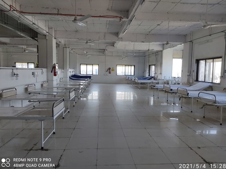 સરકારી હોસ્પિ.માં બેડ, વેન્ટીલેટર અને ઓક્સિજન પૂરતા પ્રમાણમાં ઉપલબ્ધ|ભાવનગર,Bhavnagar - Divya Bhaskar