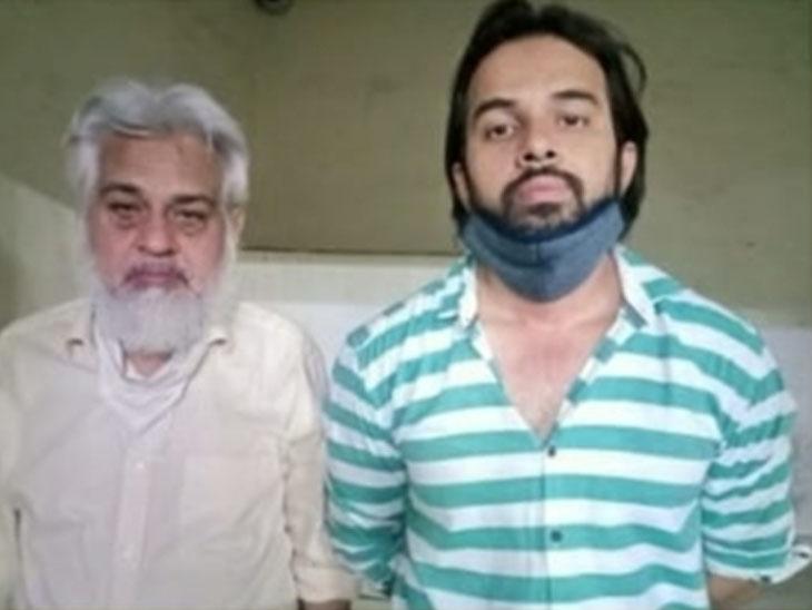 આરોપીઓ અલી ઇસ્માઇલ અને પુત્ર આરિફ - Divya Bhaskar
