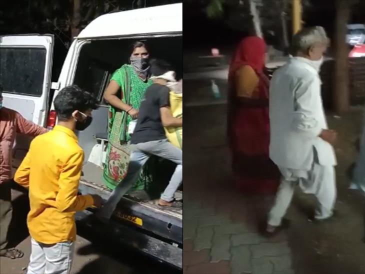 કોવિડ કેર સેન્ટરના દર્દીઓને અન્ય હોસ્પિટલમાં ખસેડવામાં આવ્યા - Divya Bhaskar