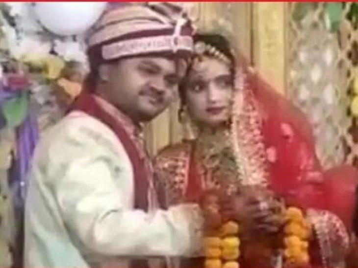 શોભિત અને રુબીના લગ્નની તસવીર. - Divya Bhaskar