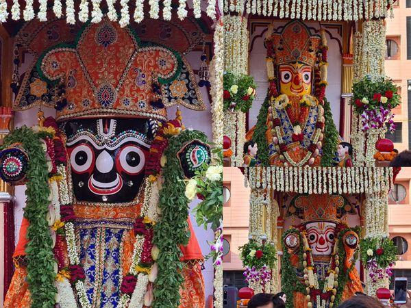 ભગવાન જગન્નાથજીની 144મી રથયાત્રા પહેલાં આવતીકાલે માત્ર મહંત અને ટ્રસ્ટીઓની હાજરીમાં જ રથપૂજન થશે|અમદાવાદ,Ahmedabad - Divya Bhaskar