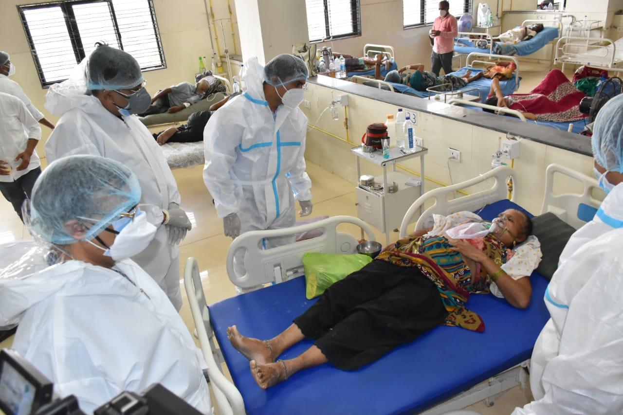 હોસ્પિટલની સુવિધાનું અધિકારીઓ દ્વારા નિરીક્ષણ કરવામાં આવ્યું