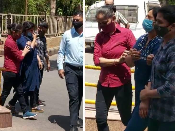 મહિલા પોલીસ અધિકારીની ક્રાઈમ બ્રાંન્ચે ધરપકડ કરી