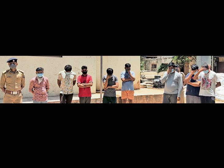 આંકલાવ નજીક ફાર્મ હાઉસમાં દારૂની મહેફિલ: 4 યુવતી સહિત 13 ઝડપાયા|આંકલાવ,Anklav - Divya Bhaskar