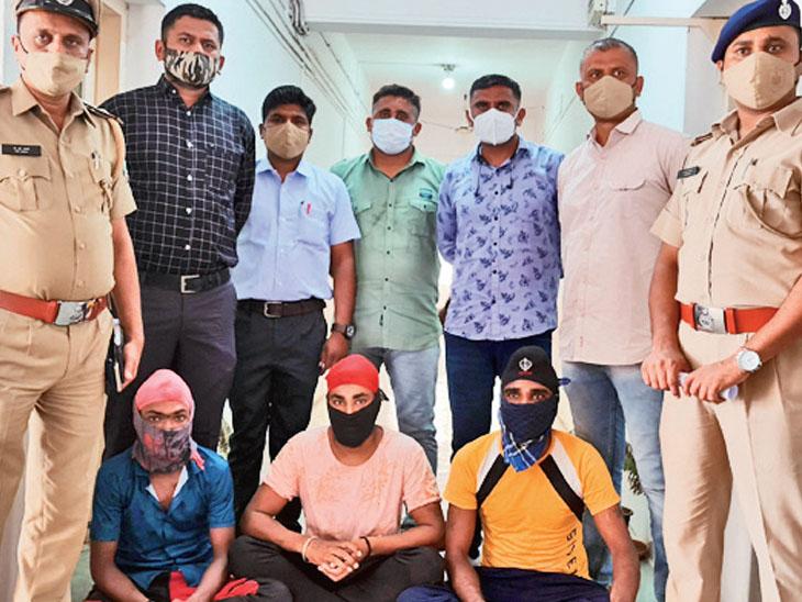 ત્રિપૂટી જામનગરમાં હોવાની બાતમી મળતા પોલીસ ત્રાટકી - Divya Bhaskar