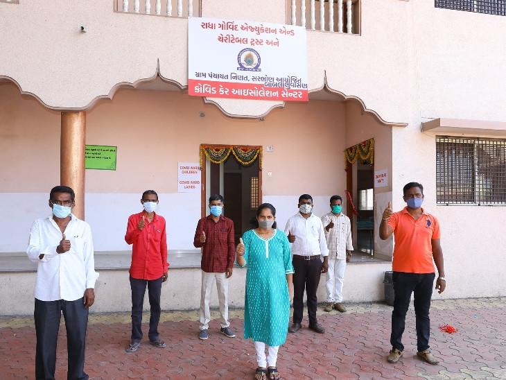 સુરતના સરભોણ ગામમાં મારૂ ગામ, કોરોનામુક્ત ગામ અંતર્ગત 20 બેડનું આઈસોલેશન સેન્ટર શરૂ કરાયું|સુરત,Surat - Divya Bhaskar