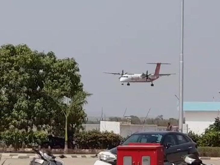 દર્દીને વિમાનમાં ચેન્નાઇ ખસેડવામાં આવ્યા - Divya Bhaskar