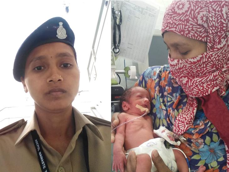 વલસાડની મહિલા પોલીસ કોન્સ્ટેબલે ફરજને મહત્વ આપી પ્રેગનન્સીના અંતિમ દિવસમાં પણ ફરજ બજાવી વલસાડ,Valsad - Divya Bhaskar