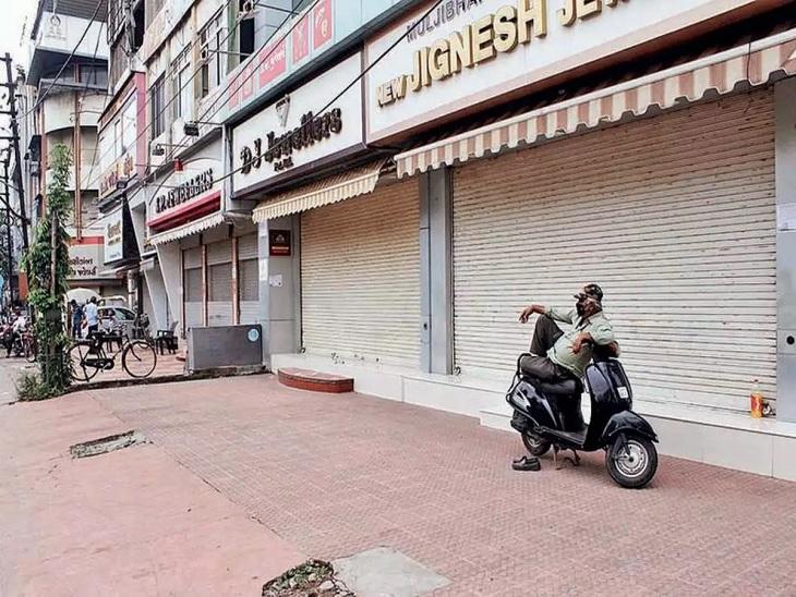 અક્ષય તૃતીયાને મિનિ લોકડાઉનના કમુરતા, સોનીઓએ બજારો બંધ હોવાથી રૂ. 250 કરોડથી વધુનો વેપાર ગુમાવ્યો બિઝનેસ,Business - Divya Bhaskar